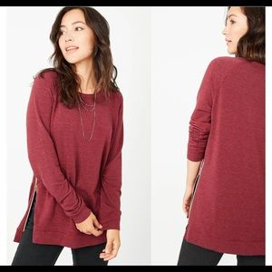 Stella & Dot Zip pullover
